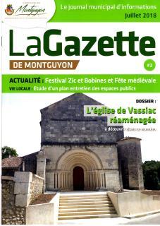 Gazette juillet 18